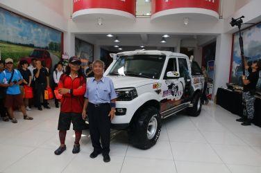 沈文程代言Mahindra皮卡 預告11月發表SUV新車
