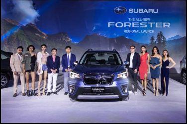 全面進化 五代目發表Subaru Forester