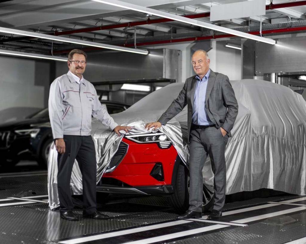 四環首輛純電車款Audi e-tron正式啟動量產