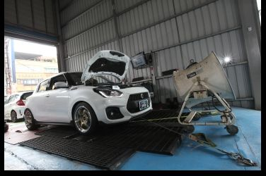 最大24hp動力輕鬆入袋    HKS Swift Sport Tuning