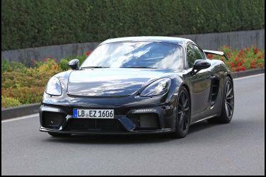 GT3 RS動力植入Porsche 718 Cayman GT4