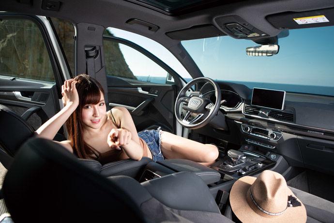 Motor Babe - Audi SQ5    中型猛獸出閘