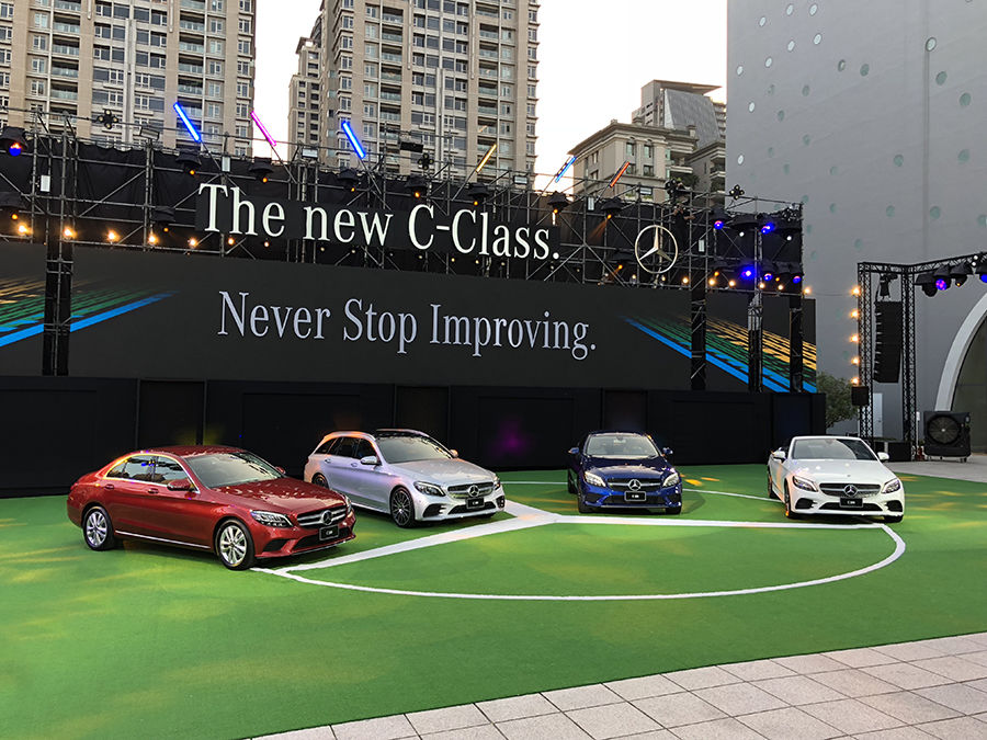 Mercedes-Benz C-Class改款上市!48V輕型複合動力導入