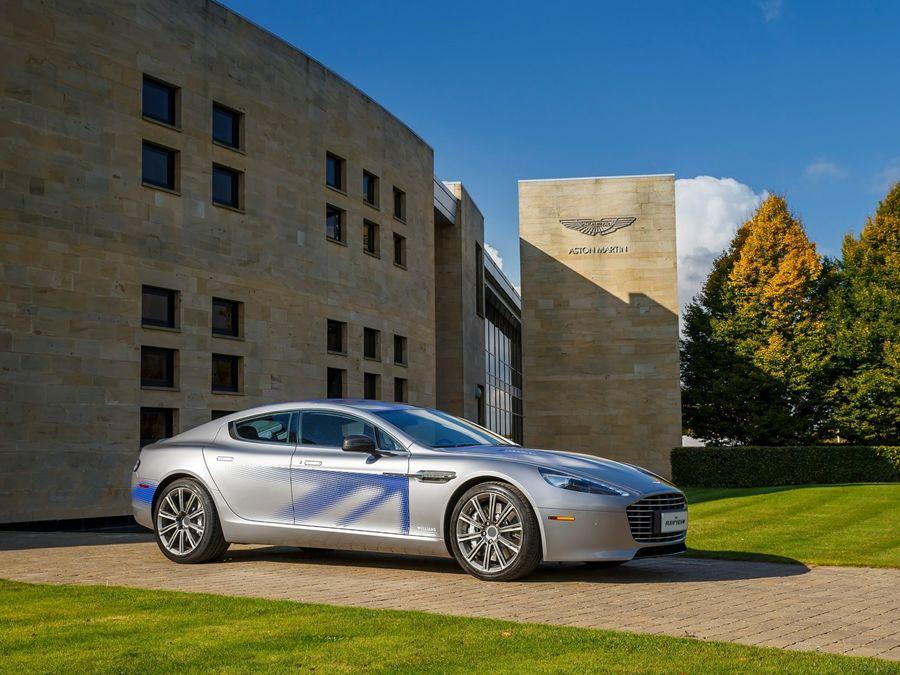 Aston Martin Rapide E將配倍耐力P Zero專屬訂製胎