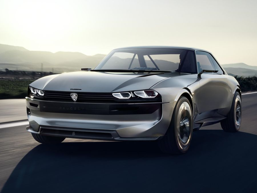 大吹復古風?!Peugeot e LEGEND Concept電動概念車有韻味