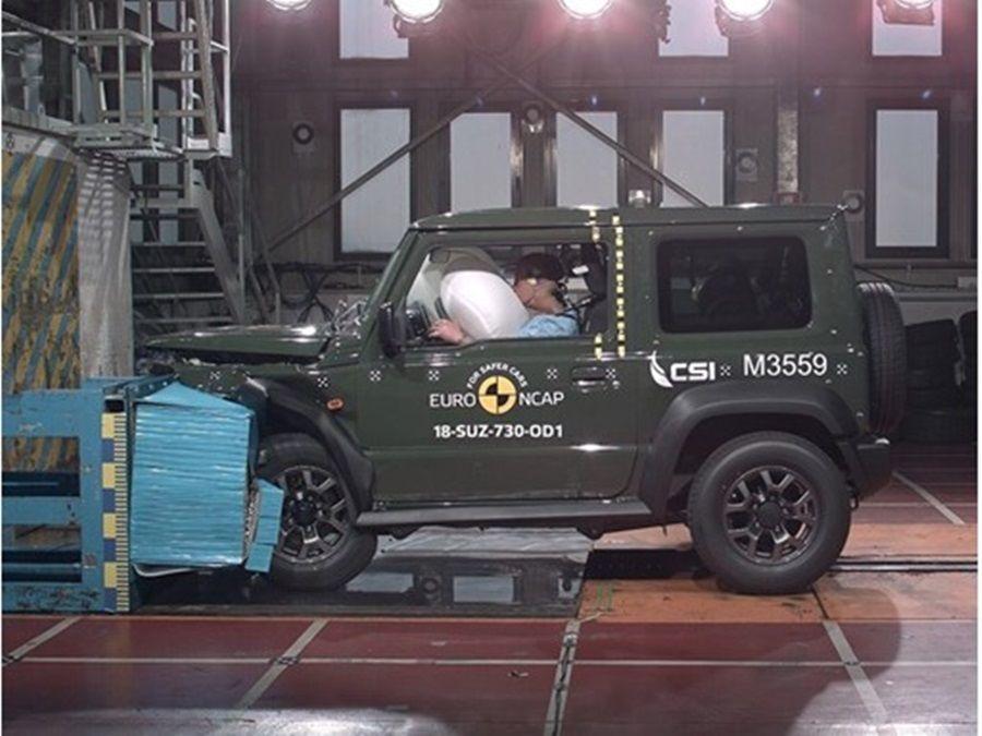 什麼??Suzuki Jimny僅得NCAP三顆星評價?!