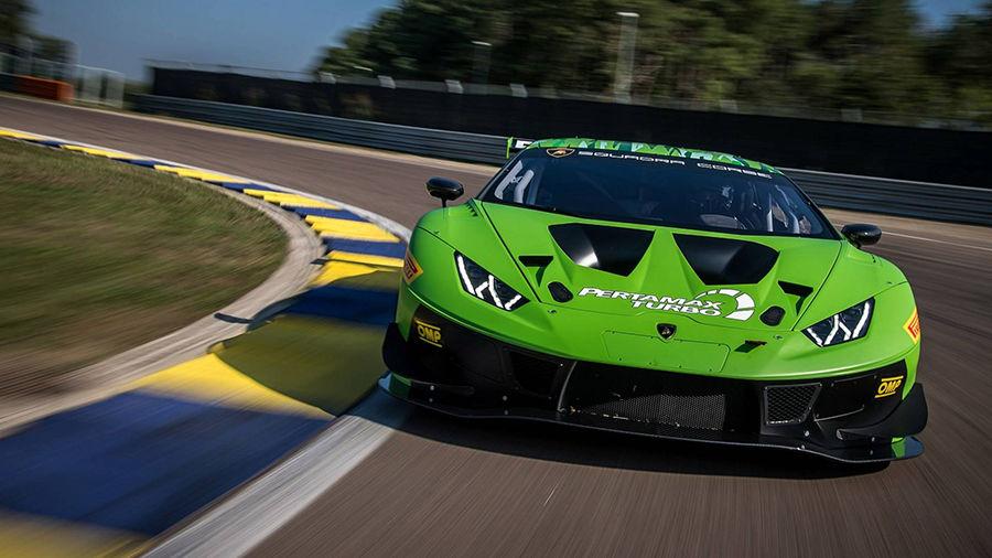 空力套件全面升級!Lamborghini發表新賽車Huracan GT3 Evo!