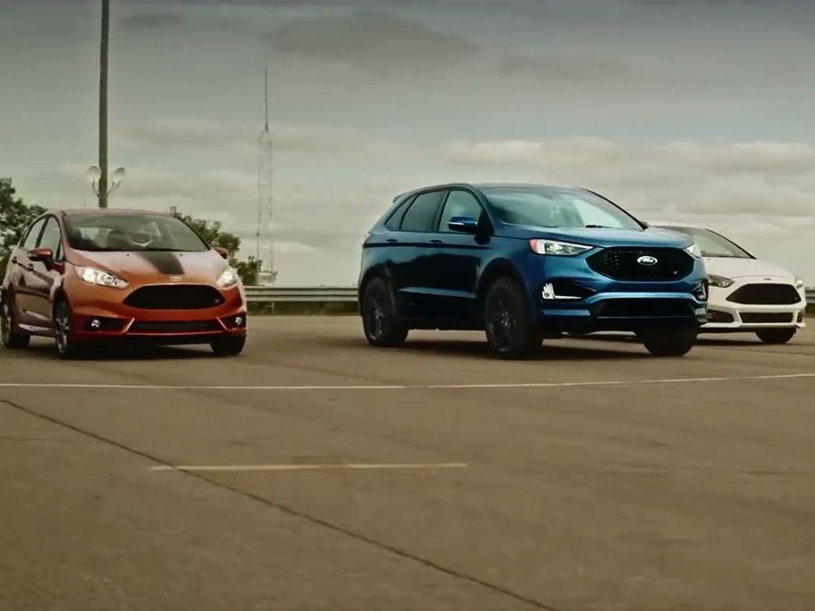 福特最快的ST竟然不是Focus或Fiesta!(內有影片)