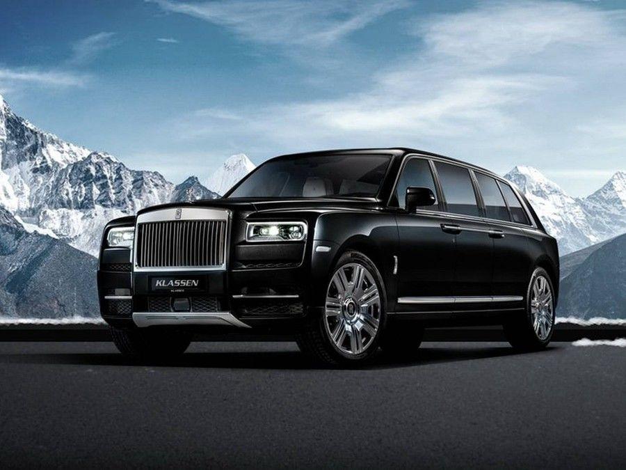 你覺得值得花超過6千萬台幣的金錢把Rolls-Royce Cullinan拉長嗎?