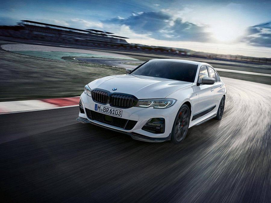 更花俏的四門房車!M Performance替2019 BMW 3-Series規劃多種專屬配件!