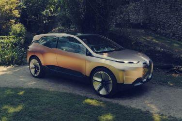 BMW Vision iNEXT Concept量產版本則要到2021年才會上市