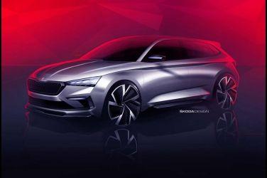 Skoda Vision RS Concept造型改走運動化路線