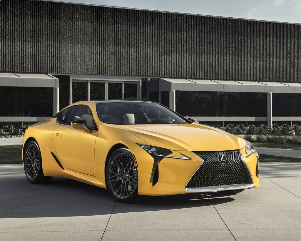 漫威黑豹第二發 Lexus LC Inspiration