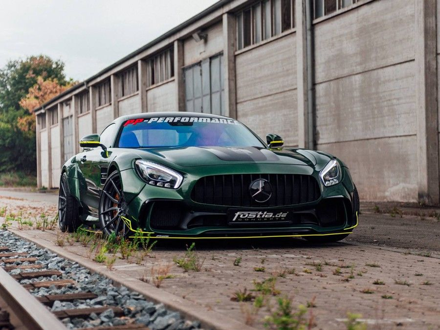 Fostla創作的Mercedes-AMG GT作品不僅有了兇猛外貌,還有650HP的動力武器!
