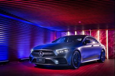 魅惑登場 Mercedes-Benz CLS