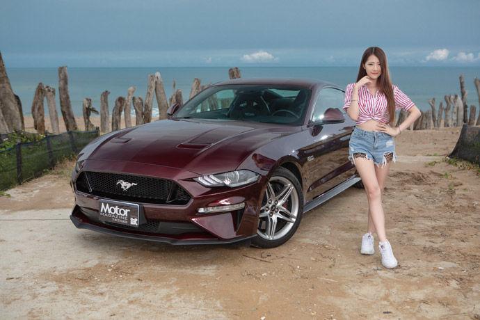 Motor Babe - Ford Mustang GT Premium    脫韁野馬再進化