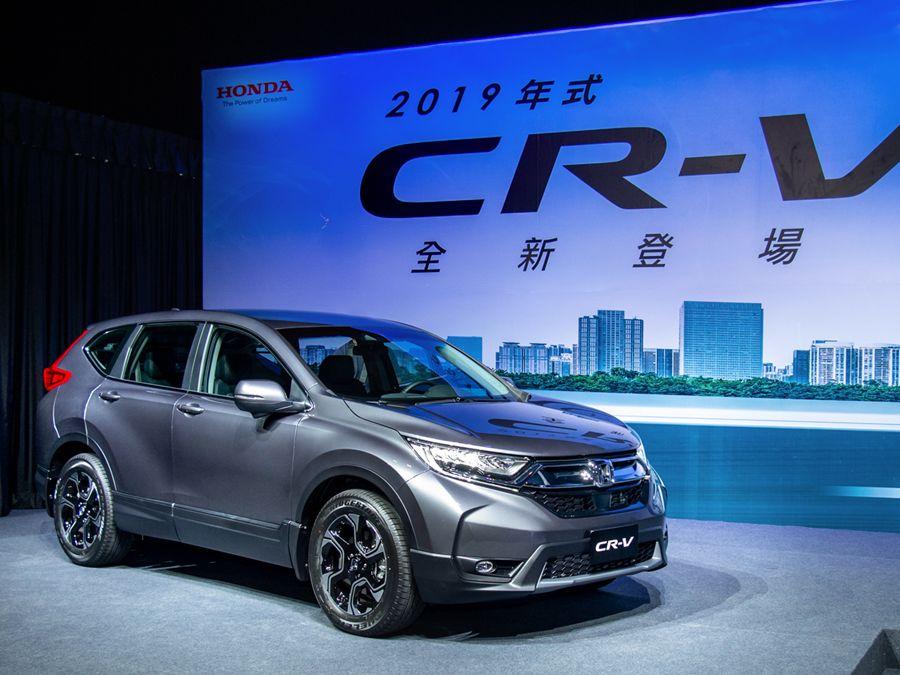 終於等到!Honda Sensing成為2019 Honda CR-V全車系標配