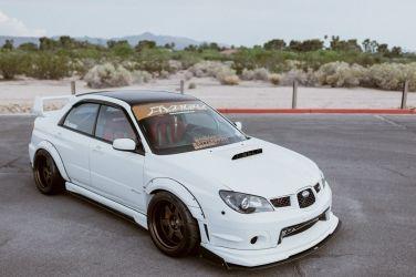 基礎到一個不行卻又讓人羨慕   345hp Subaru Impereza WRX STI