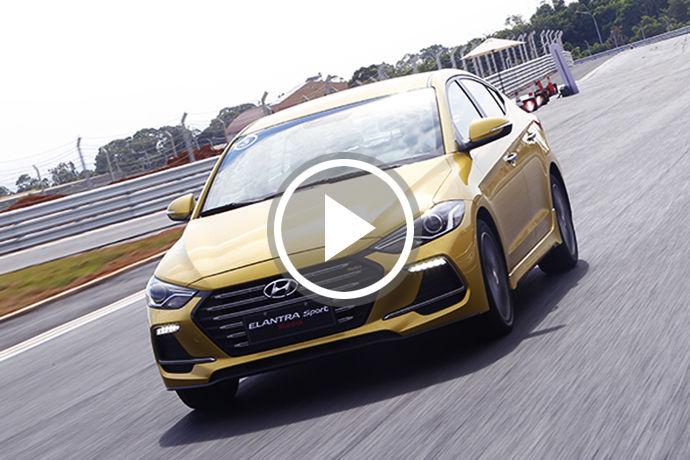 國產賽道新指標 Hyundai Elantra Sport 麗寶G2國際賽車場首試
