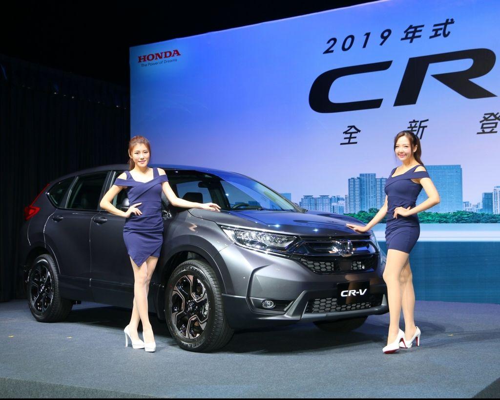 Honda Sensing全面標配!2019 Honda CR-V