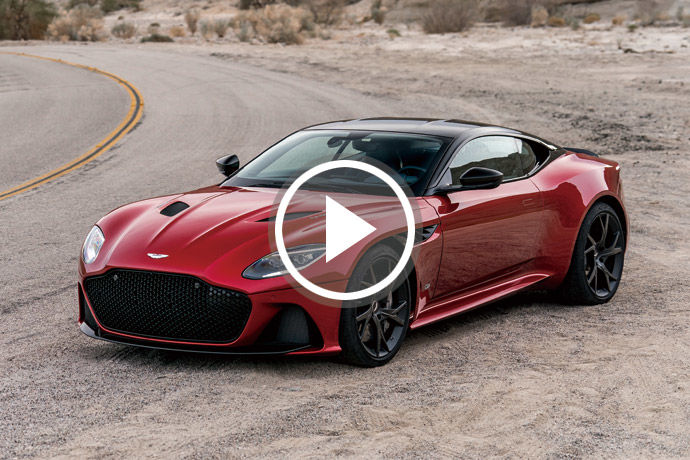 稀有超跑 - Aston Martin DBS Superleggera    Mr.Q的新法寶