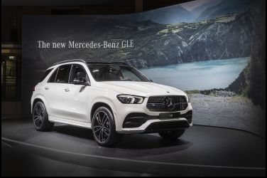 由方轉圓  Mercedes-Benz GLE