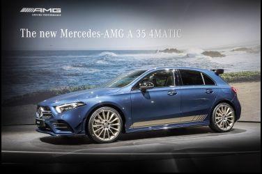 加速媲美初代A45   Mercedes-AMG A35