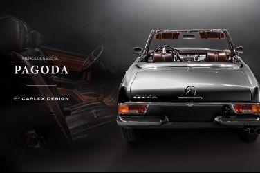 讓Mercedes-Benz 230SL充滿野味   Carlex Design內裝經典改