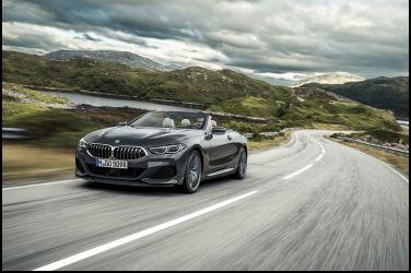上空特快車   BMW 8 Series Convertible