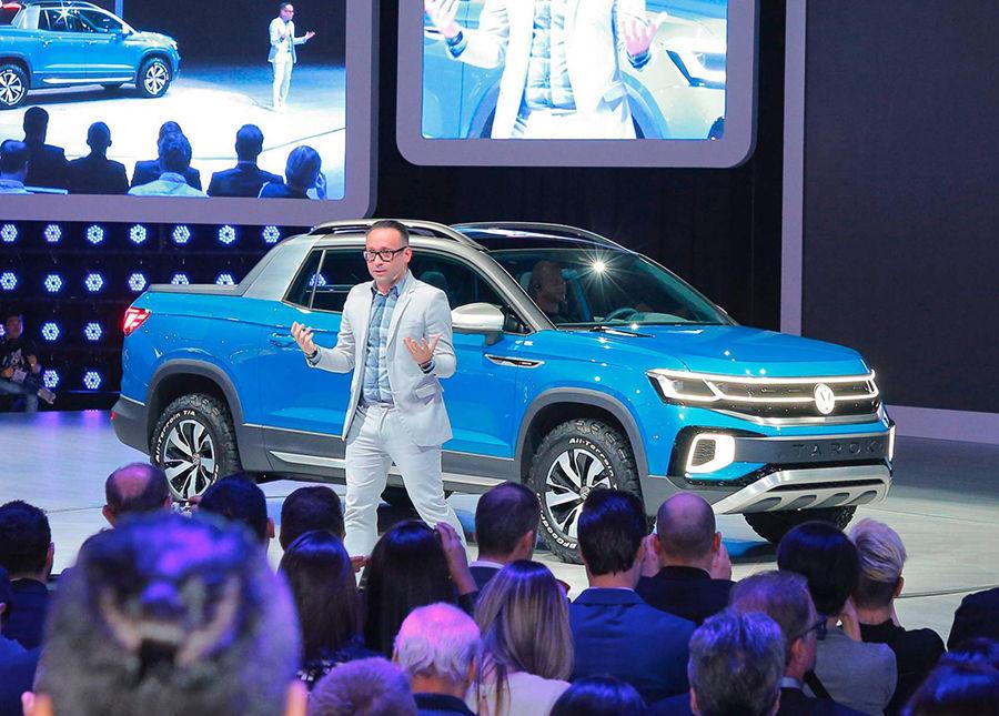 VW緊湊型皮卡再一發!全新MQB底盤皮卡Tarok發表