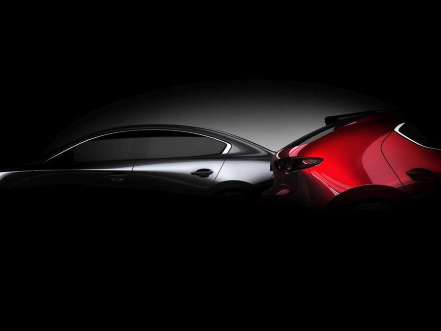 全新大改第四代Mazda 3月底LA車展現身!
