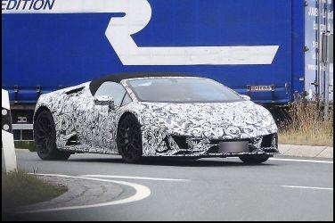 不極端怎成牛Lamborghini Huracan Spyder小改款