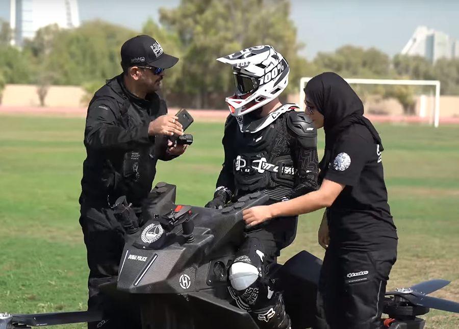 杜拜警察會飛了?!S3 2019 Hoverbike加入警車陣容(影片)