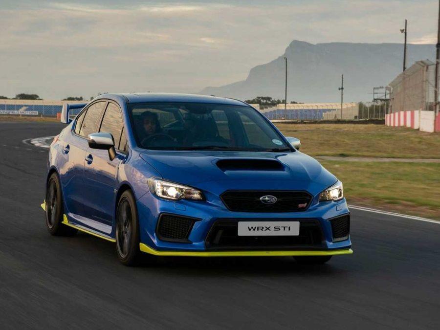Subaru推出動力最強的WRX STI…不過為南非專屬