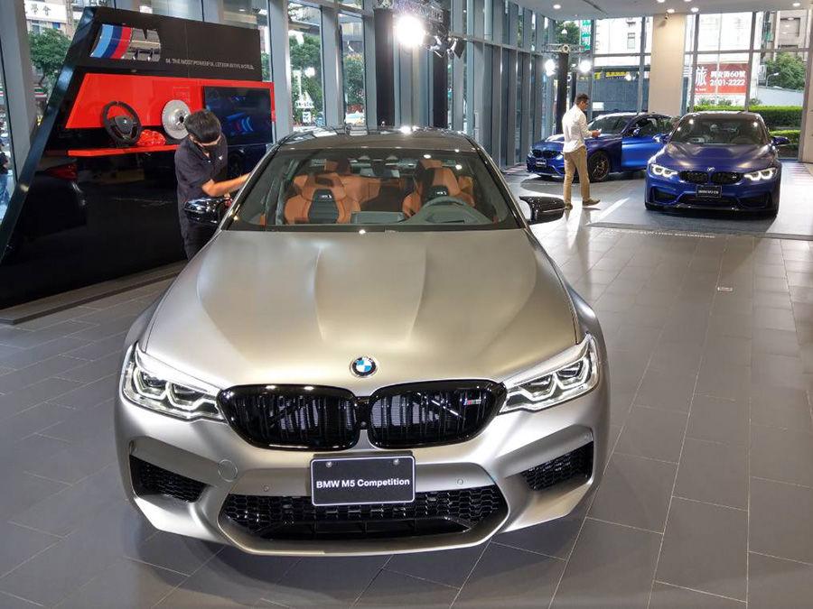 BMW M5 Competition在台上市!M3 CS與M4 CS同場曝光