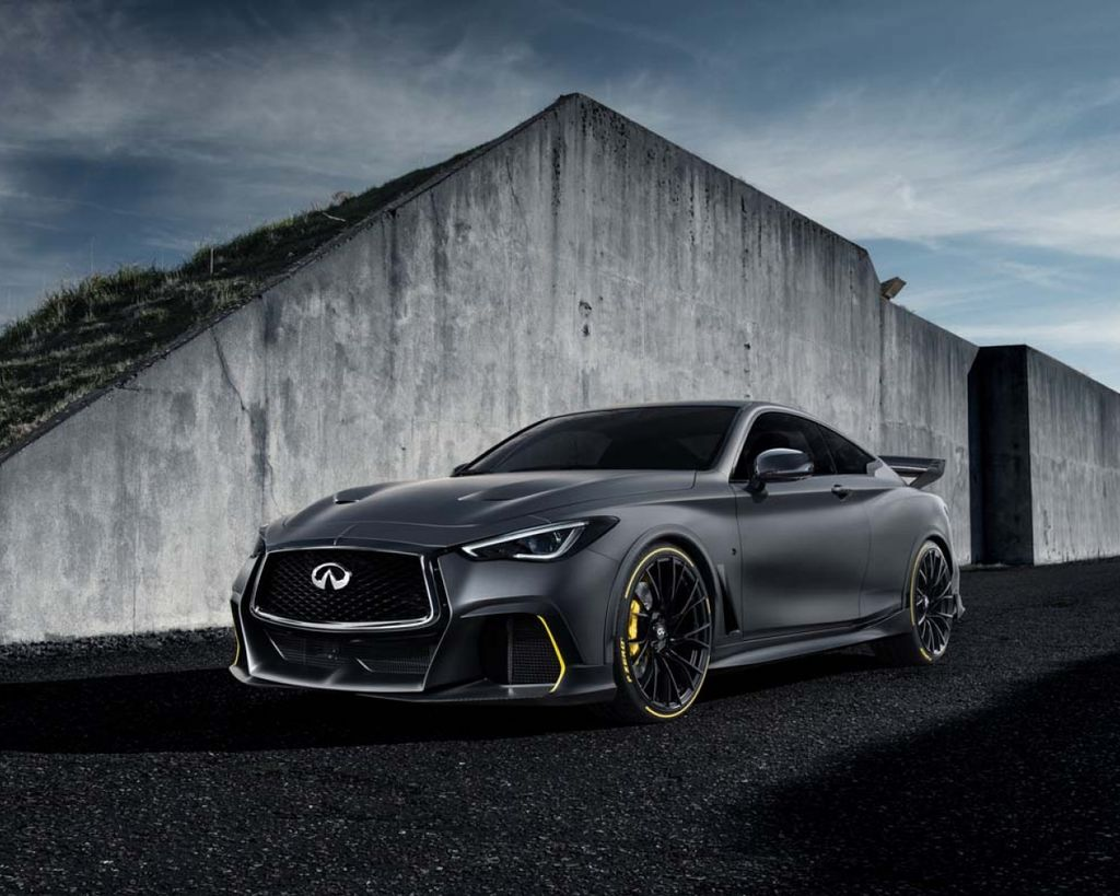 最強油電性能版本 Infiniti Project Black S Prototype