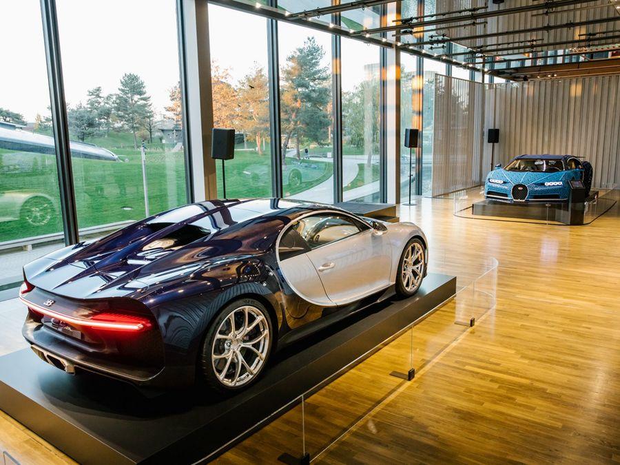 樂高1:1 Bugatti Chiron模型在VW博物館展出