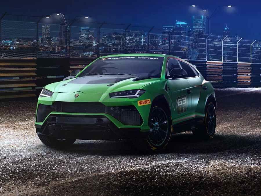 專為競賽而生的Super SUV─Lamborghini Urus ST-X Concept