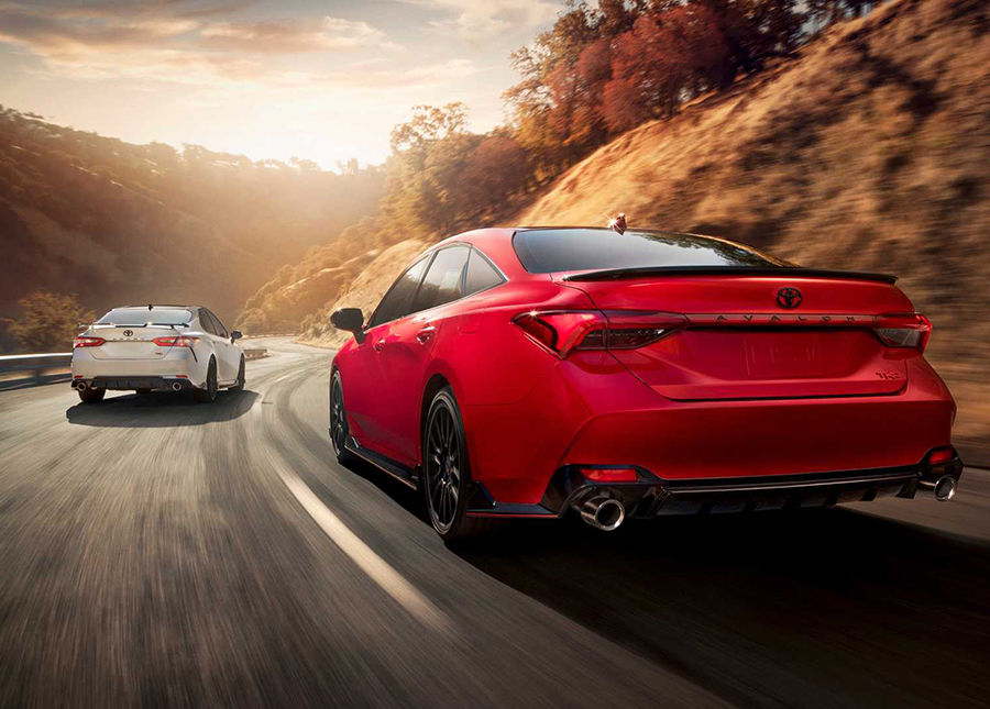 Toyota運動化宣言?高級房車Camry、Avalon新增TRD車型
