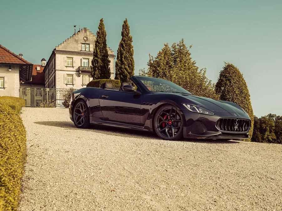 Pogea Racing端出的改裝套件令Maserati GranCabrio有了新氣象