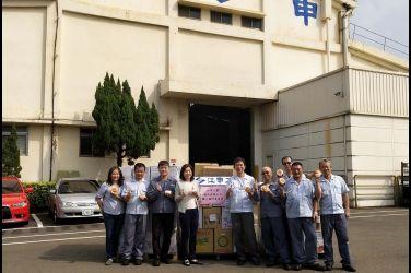 中華汽車集結50家協力廠助銷原民甜柿  完銷2100公斤甜柿