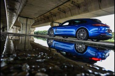 絕佳跑車氣氛Porsche Panamera 4S Sport Turismo