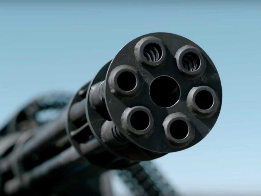 配置M61火神砲的Toyota Prius絕對讓你不敢擋在他面前