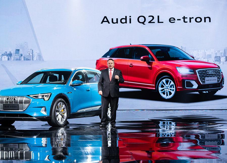 中國限定!Audi Q2 L e-tron現身