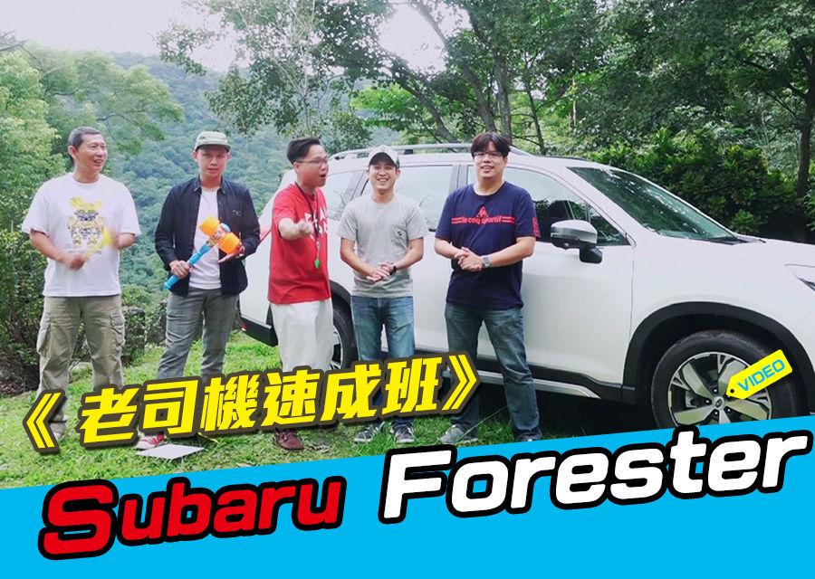 《 老司機速成班》Subaru Forester休旅篇