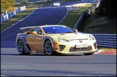 其實不是新車Lexus LF-A