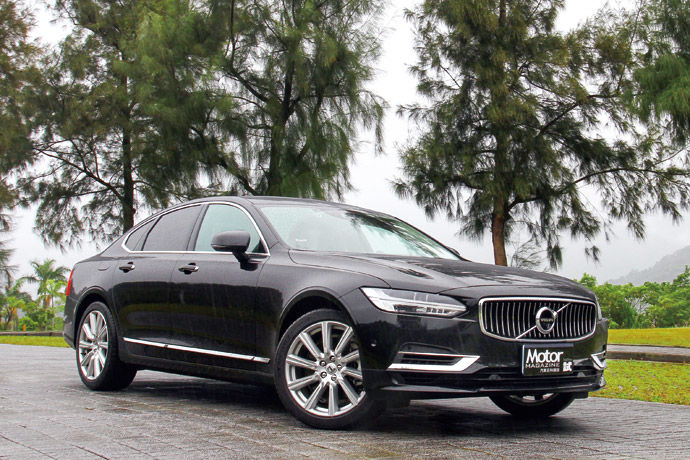 油電豪華新風範    Volvo S90 T8 Inscription