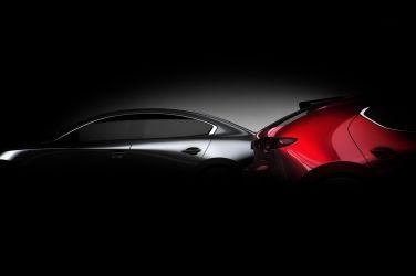 大改款Mazda 3這次露一截尾椎給你看!!