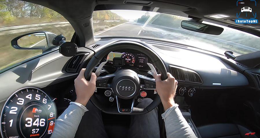 Audi R8 V10還需改Turbo嗎?看了影片就知道!