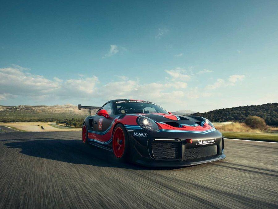 Porsche在2018洛杉磯車展推出911 GT2 RS Clubsport賽車